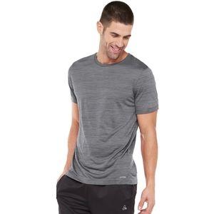 Men's Tek Gear DryTek Tee, Size: XXL, Med Grey